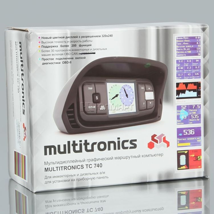 Бортовой компьютер Multitronics TC740